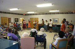 National Nursing Home Week Roger Chartier Seniors Entertainer Com