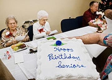 Birthday Parties for senior citizens Nursing Homes